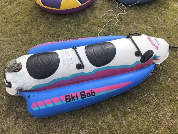 Achilles アキレス ゴムボート/Sevylor セビラー Ski Bob/Best Way/浮き輪 4点セット 海遊び/雪遊びに_画像7