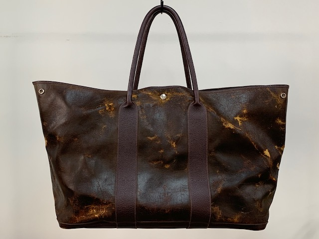 low priced 2c9e3 0318e HERMES エルメス レザー トートバッグ USED