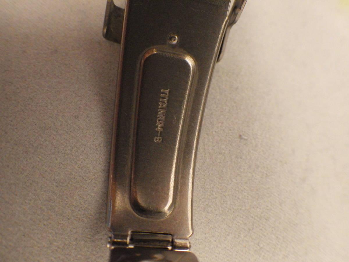 SEIKO チタン AGS フィールドマスター 5M22-6C10 ワンピースケース 動作品 FIELD MASTER_画像8