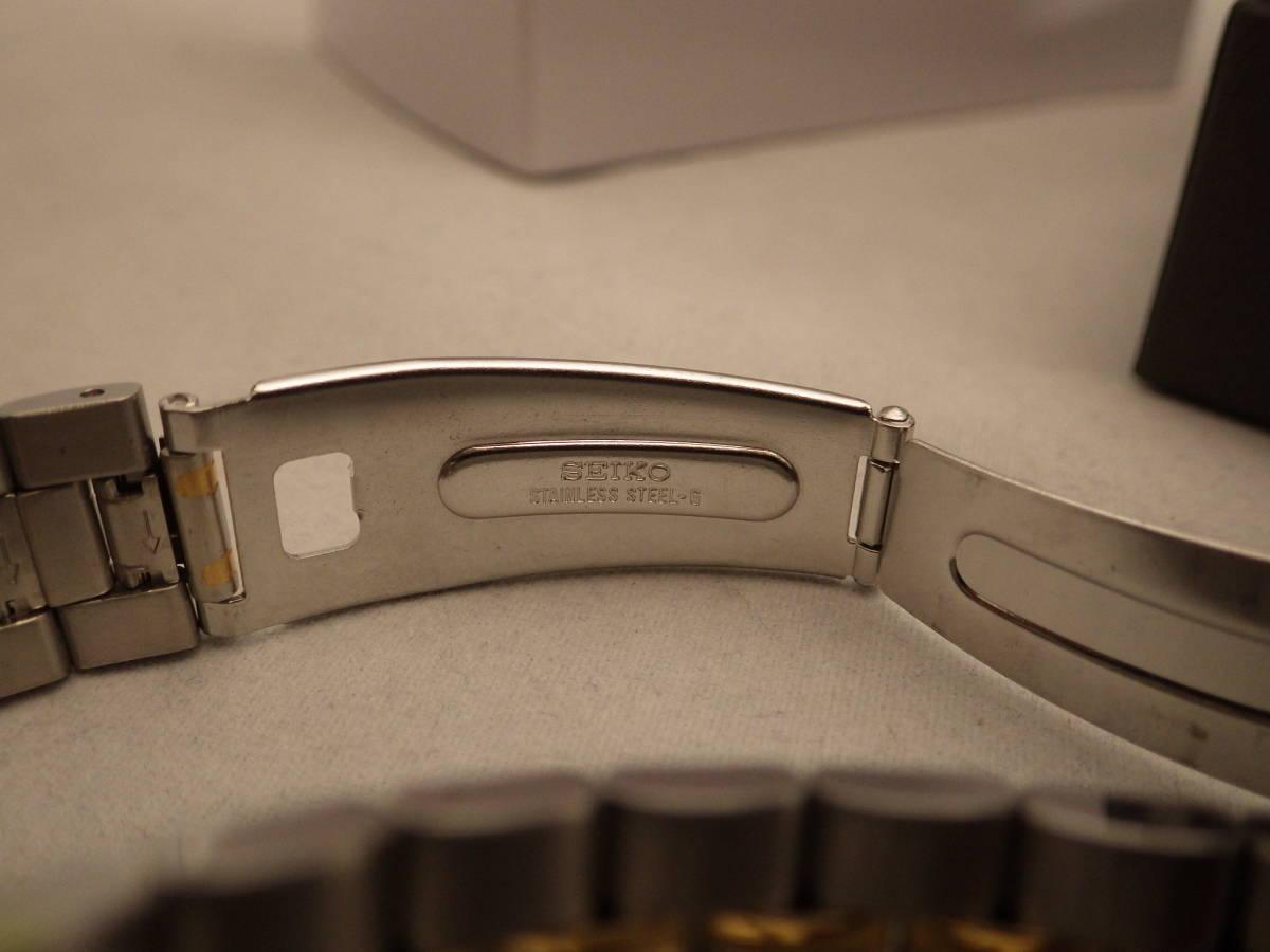 未使用 デッドストック SEIKO スピードマスター SBBP005 電池交換済み 定4.5万 7Tクロノ_画像7