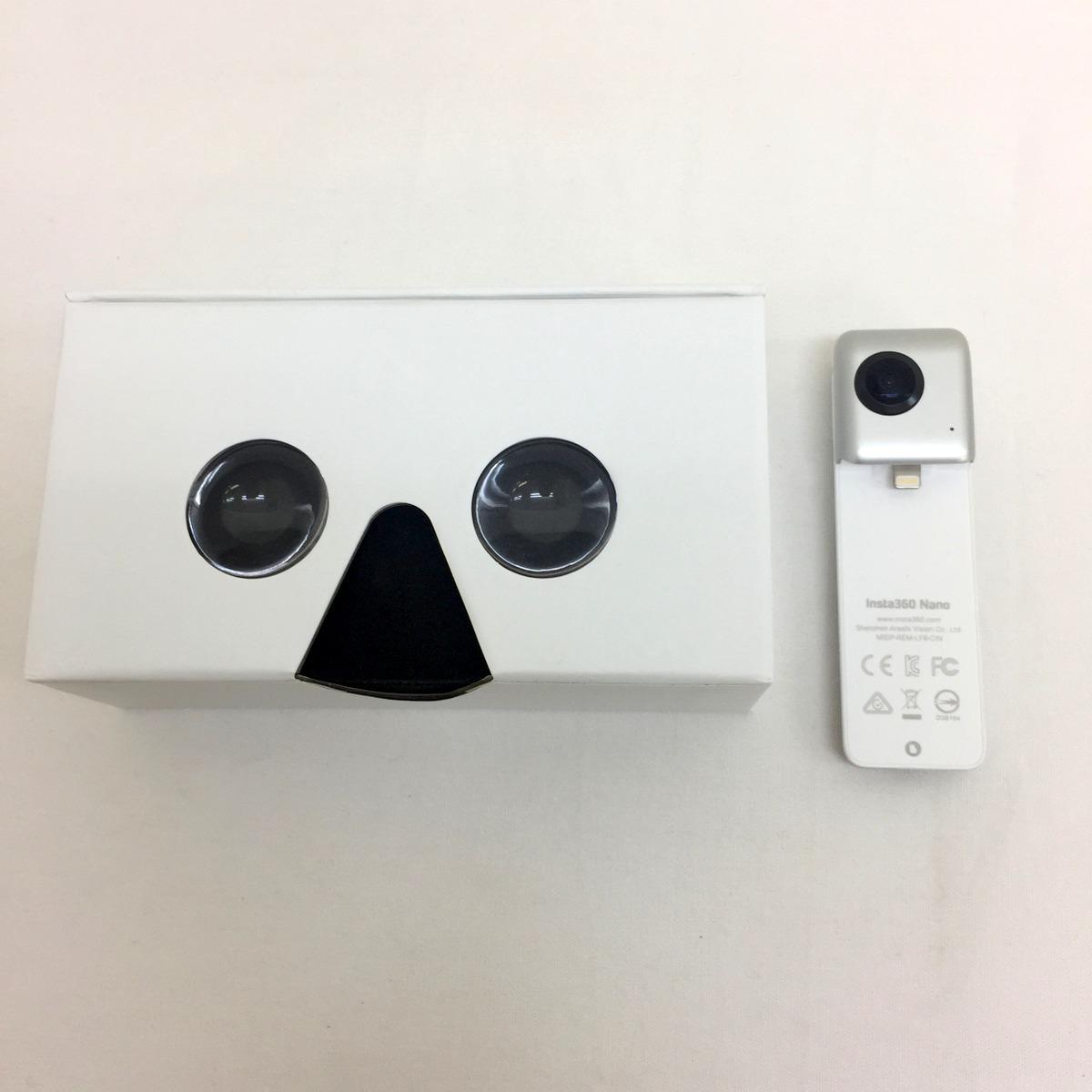 【1週間レンタル商品 返送料込】 360°全方位カメラ Insta360 Nano iPhone対応