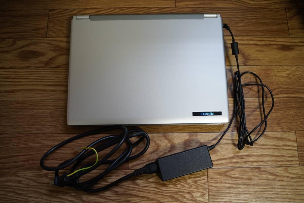 【美品】FRONTIER フロンティア M54JE ノートパソコン PC Windows XP