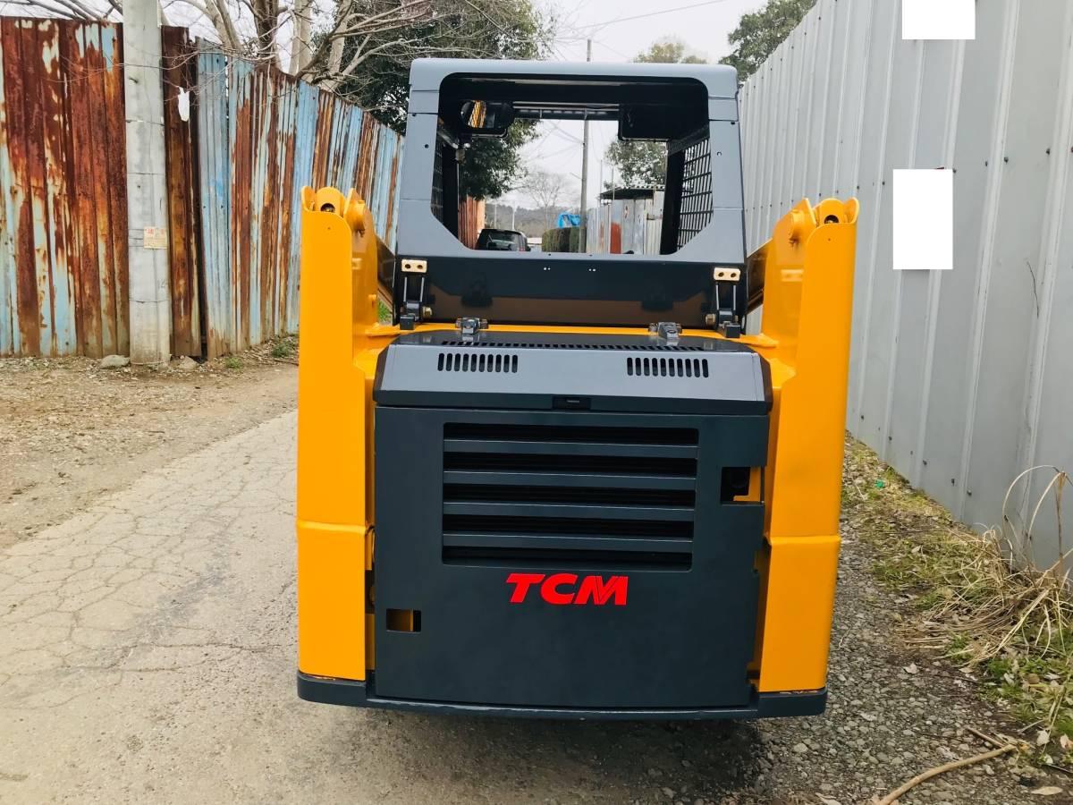 TCM  ボブキャット SSL 605 4WD ホイールローダー  タイヤ と ホイール 新品  千葉県発_画像6