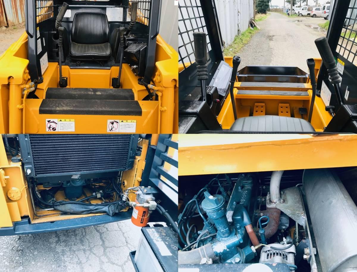 TCM  ボブキャット SSL 605 4WD ホイールローダー  タイヤ と ホイール 新品  千葉県発_画像9
