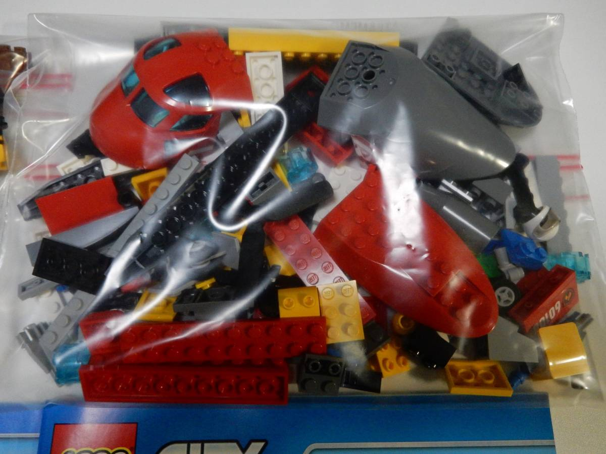 LEGO レゴ シティ 60108 消防ヘリコプター 開封品_画像4