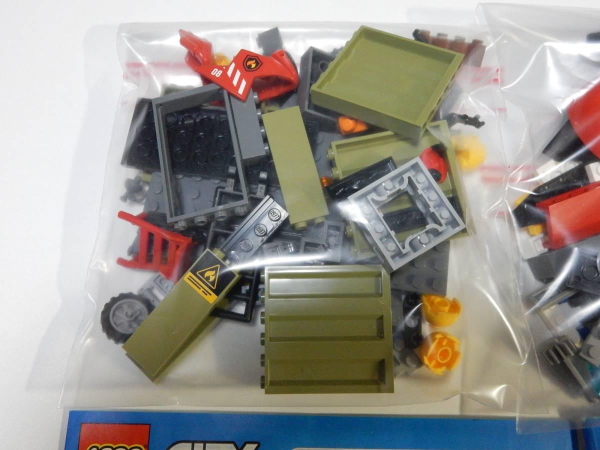 LEGO レゴ シティ 60108 消防ヘリコプター 開封品_画像5