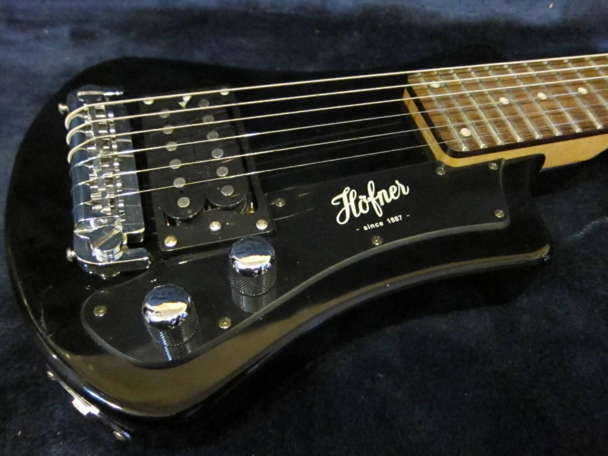 即決☆Hofner Shorty Travel Guitars☆24Fミディアムスケールのミニギター♪_画像2