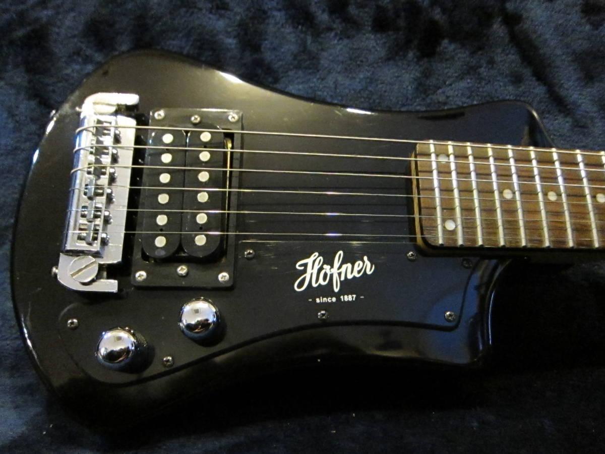即決☆Hofner Shorty Travel Guitars☆24Fミディアムスケールのミニギター♪_画像4