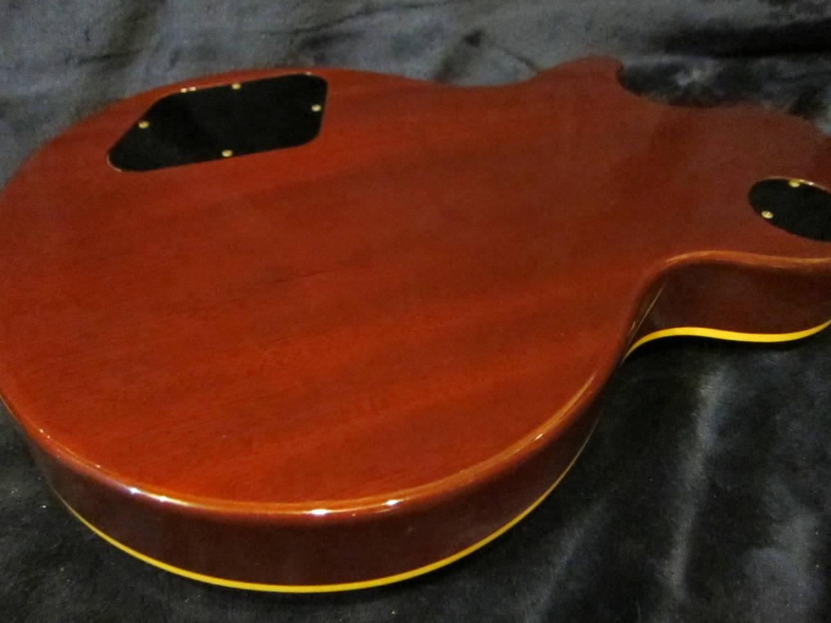 即決☆Epiphone Japan Les Paul Standard LPS-85F☆Gibsonピックアップ搭載&フレイムメイプルトップ♪美品!_画像3