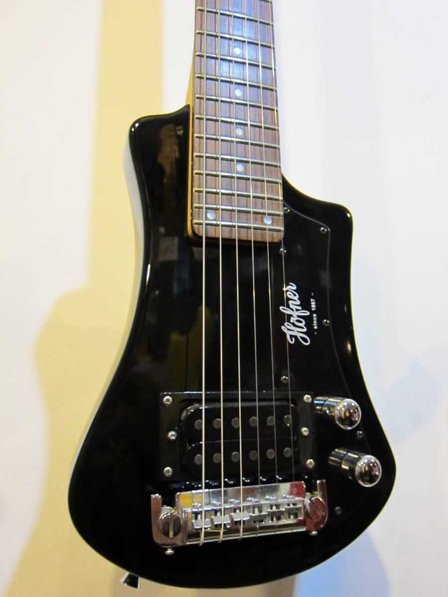 即決☆Hofner Shorty Travel Guitars☆24Fミディアムスケールのミニギター♪_画像1