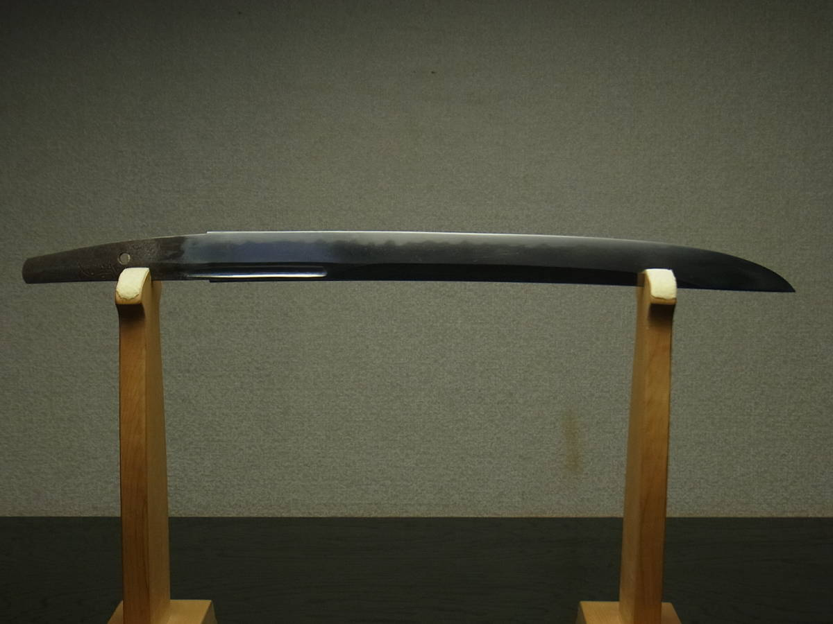 906 蔵出 日本刀 在銘 兼元 脇差 拵付 在銘刀装具 小柄 鍔 蜻蛉 勝虫_画像2