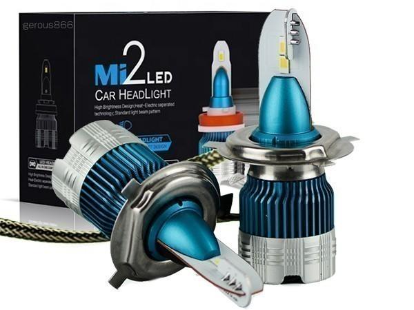超ミニ型PHILIPSフイリツプ LEDヘッドライトH4 Hi/Lo 12000LM スカイウェイブ650/250/400 GSF1200_画像1