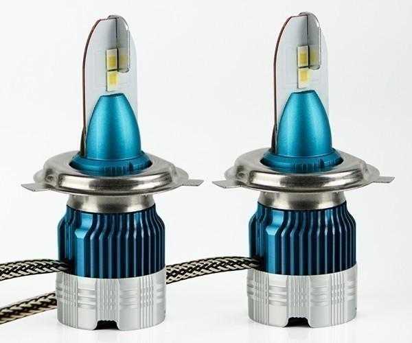 超ミニ型PHILIPSフイリツプ LEDヘッドライトH4 Hi/Lo 12000LM スカイウェイブ650/250/400 GSF1200_画像2