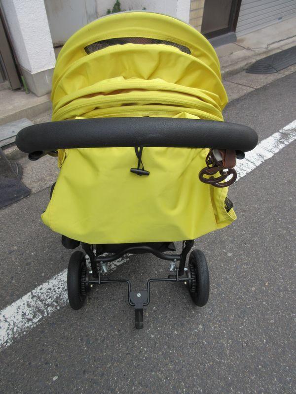 ★☆美品 AIR BUGGY■ココブレーキEX・イエロー☆★_画像4