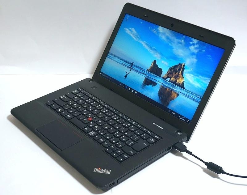 静音14インチ Win10/Core i3/ 4GB/ 500GB/DVDマルチ Lenovo ThinkPad E440 ノートPC