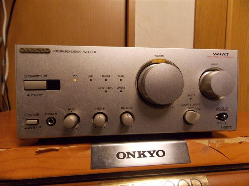 ONKYO A-907X 動作良好 INTEC_画像1