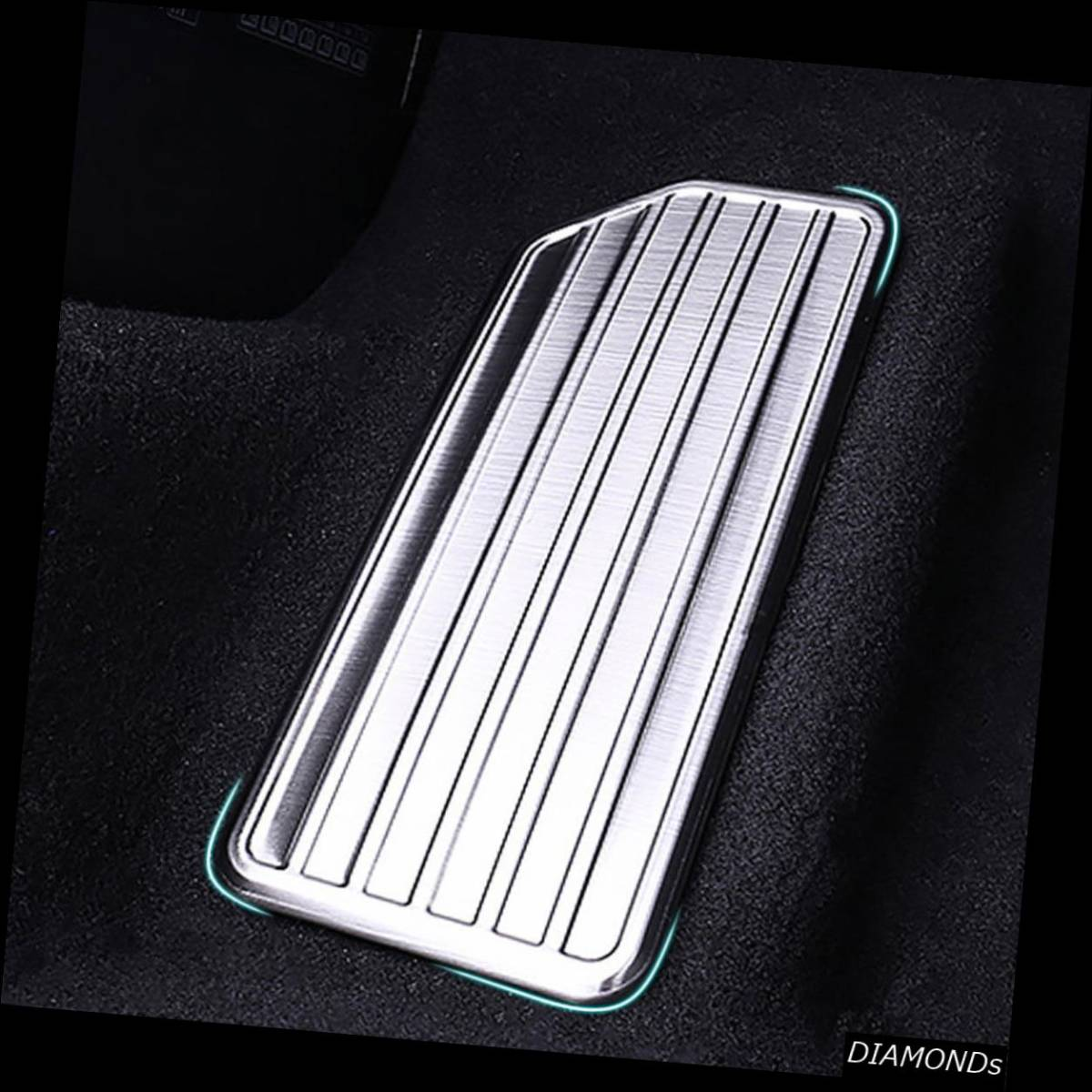 Stainless Steel Left Side Car Foot Rest Pedal Cover Trim for 2018 Honda Accord