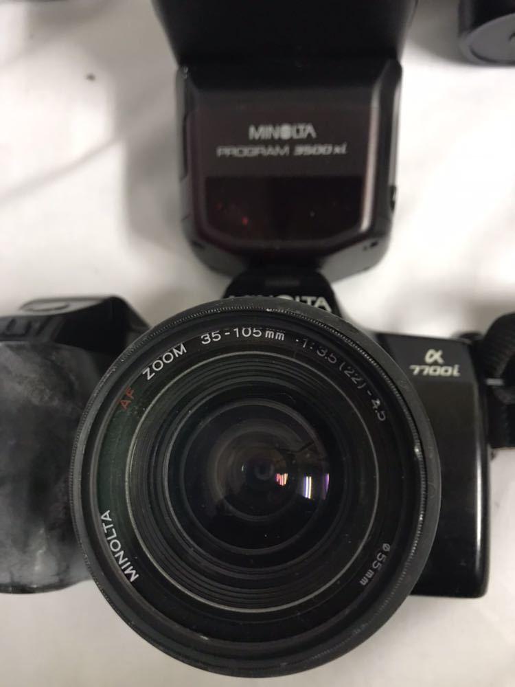 MINOLTA 50th anniversary EOS KISS MINOLTA α7 MINOLTA α7700i ジャンク 中古 カメラ_画像9