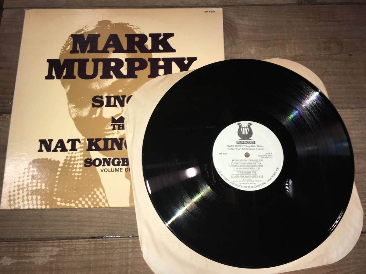 LPレコード/US盤/白ラベル●マークマーフィーMark Murphy / Mark Murphy Sings The Nat King Cole Songbook Volume One_画像3