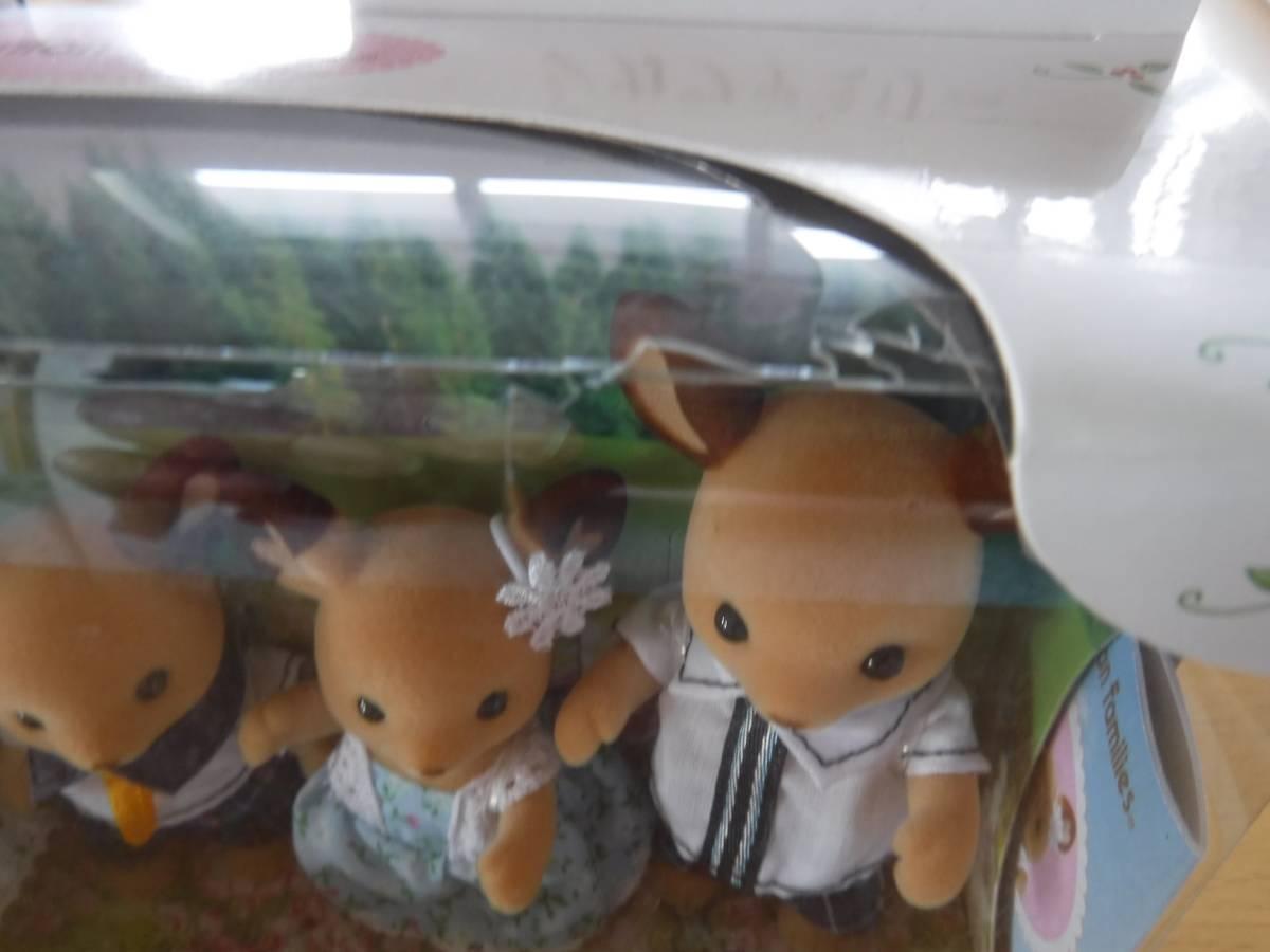 新品未使用★シルバニアファミリー シカファミリー 人形ドール_画像2