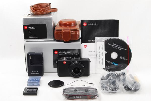★良品★LEICA ライカ D-LUX4 人気のコンパクトデジタルカメラ 純正カメラケース付き♪_画像1