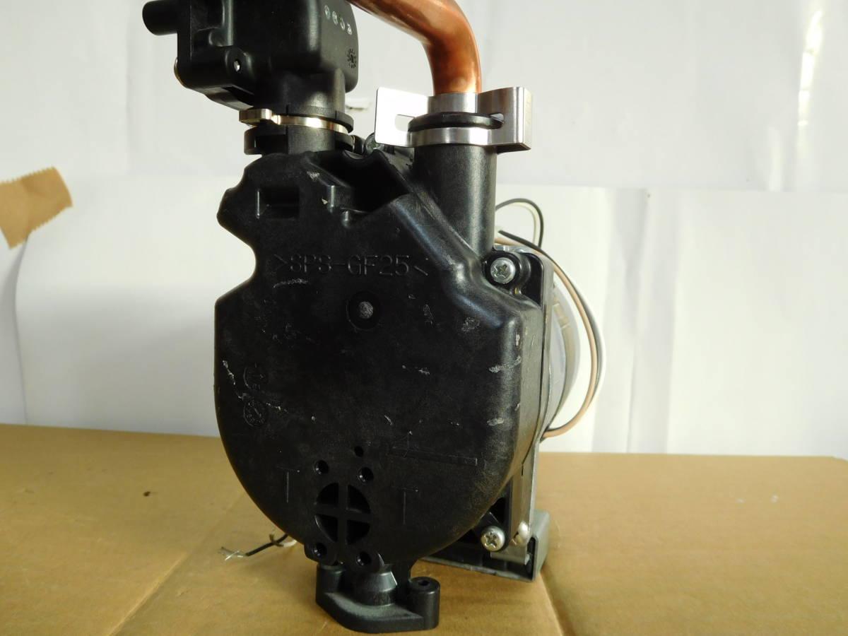 マグネットポンプ 自吸式 水槽ろ過装置 自作品等の吸水循環に 給湯器より。中古 格安出品 #86_画像2