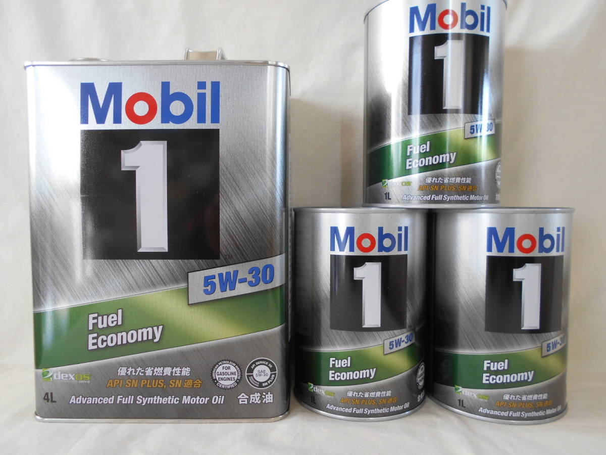 Mobil1 モービル1 5W-30 7Lセット_画像1
