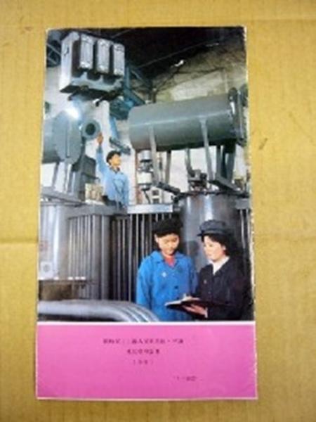 レア?非買当時物1981北朝鮮外国文出版「大安重機工場」_画像2