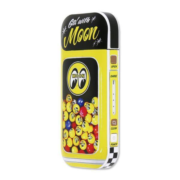 普通郵便140円発送可 mooneyes MOON iQOS ステッカー アイコス 黄色 イエロー moon ball ムーンボール ムーンアイズ moon eyes_画像2