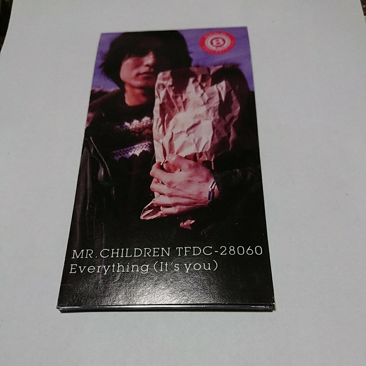 196135●90年代中古●8cmシングルCD●Everything (It's you) デルモ/Mr.Children●1997年●121万枚