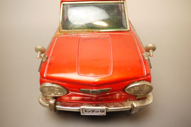 ■昭和当時物ブリキ 日野コンテッサ1300クーペ@米澤玩具製 旧車_画像7