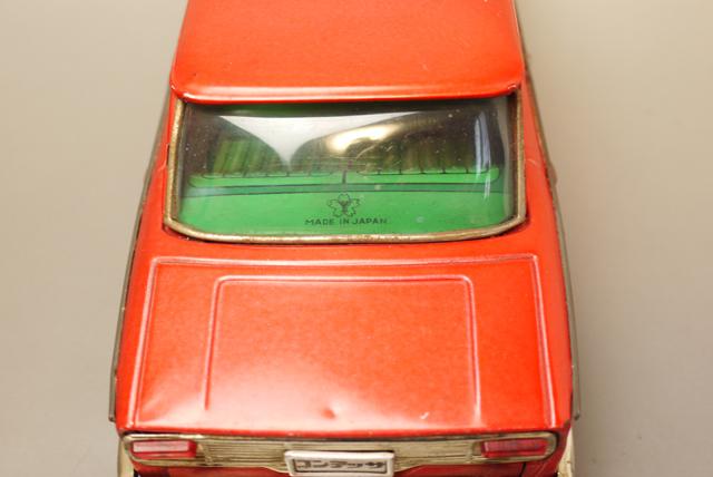 ■昭和当時物ブリキ 日野コンテッサ1300クーペ@米澤玩具製 旧車_画像9