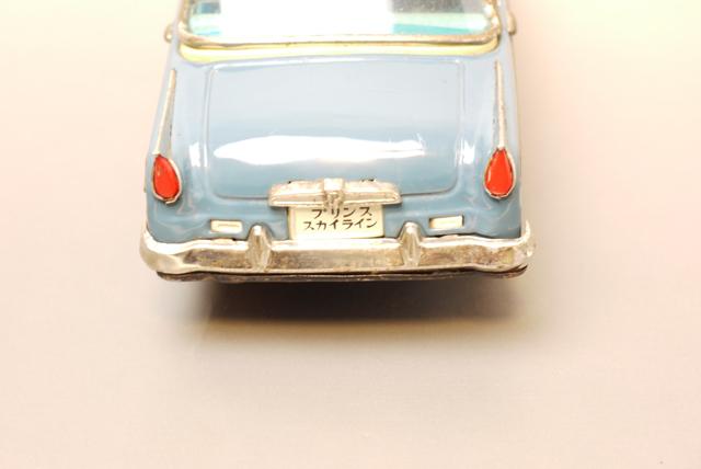 ■昭和当時物ブリキ プリンススカイライン@旧バンダイ製 旧車_画像6