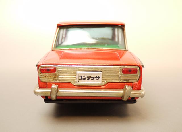 ■昭和当時物ブリキ 日野コンテッサ1300クーペ@米澤玩具製 旧車_画像4