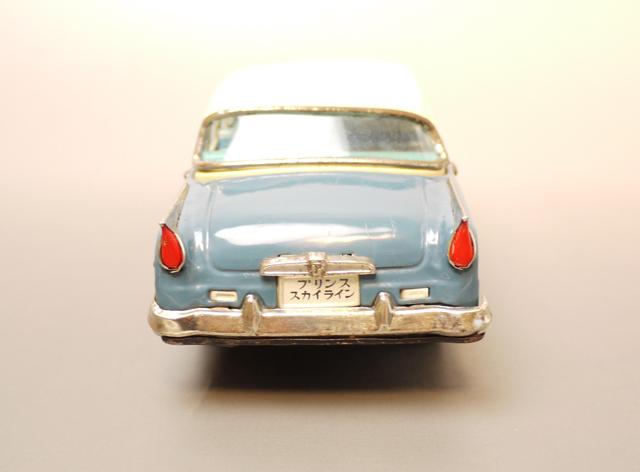 ■昭和当時物ブリキ プリンススカイライン@旧バンダイ製 旧車_画像5