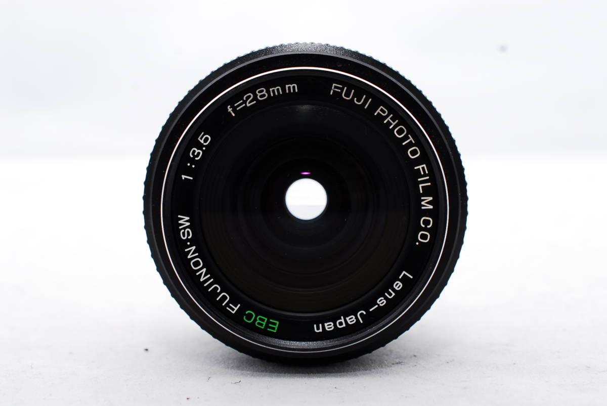 ◇富士フィルム EBC FUJINON.SW 28mm F3.5 純正レンズケース付き拍卖