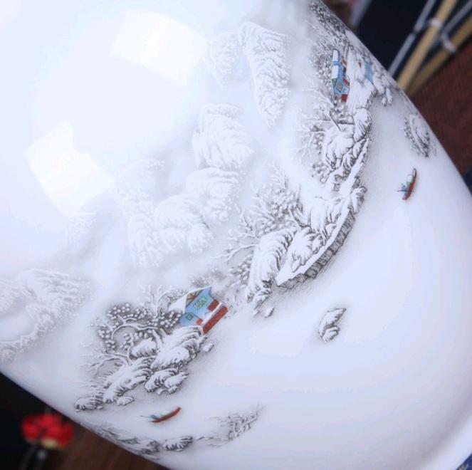花瓶 鈞窯 中国陶磁器 瀬戸物 景徳鎮 陶器/花器 飾り瓶 陶器 賞瓶 文斎賞物 置物 唐物 花壺 花入 陶芸 2019032007_画像4