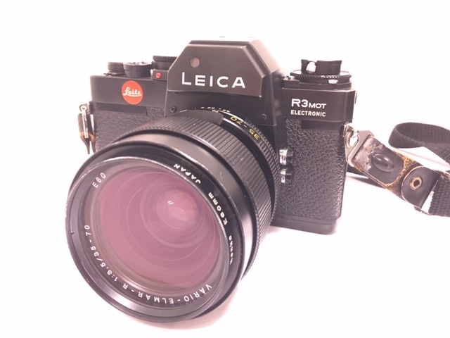★ 【美品】 LEICA/ライカ フィルム一眼レフカメラ R3 MOT ELECTRONIC ブラック ボディ  ★2742