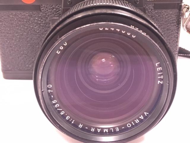 ★ 【美品】 LEICA/ライカ フィルム一眼レフカメラ R3 MOT ELECTRONIC ブラック ボディ  ★2742_画像2