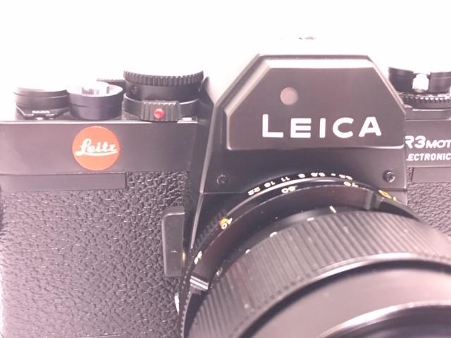 ★ 【美品】 LEICA/ライカ フィルム一眼レフカメラ R3 MOT ELECTRONIC ブラック ボディ  ★2742_画像3