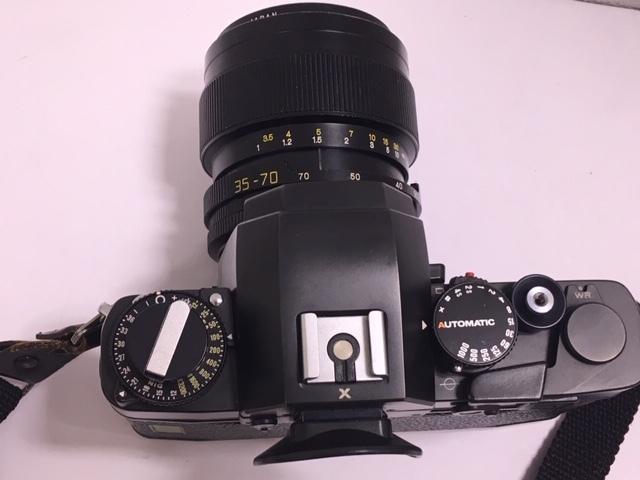 ★ 【美品】 LEICA/ライカ フィルム一眼レフカメラ R3 MOT ELECTRONIC ブラック ボディ  ★2742_画像6