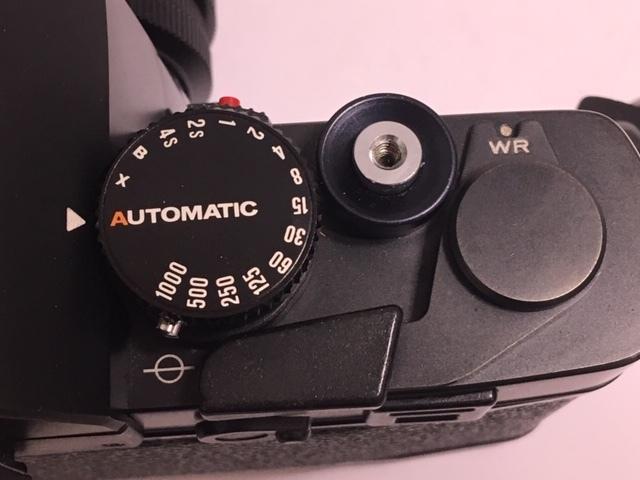 ★ 【美品】 LEICA/ライカ フィルム一眼レフカメラ R3 MOT ELECTRONIC ブラック ボディ  ★2742_画像7