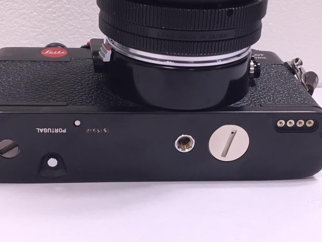 ★ 【美品】 LEICA/ライカ フィルム一眼レフカメラ R3 MOT ELECTRONIC ブラック ボディ  ★2742_画像8
