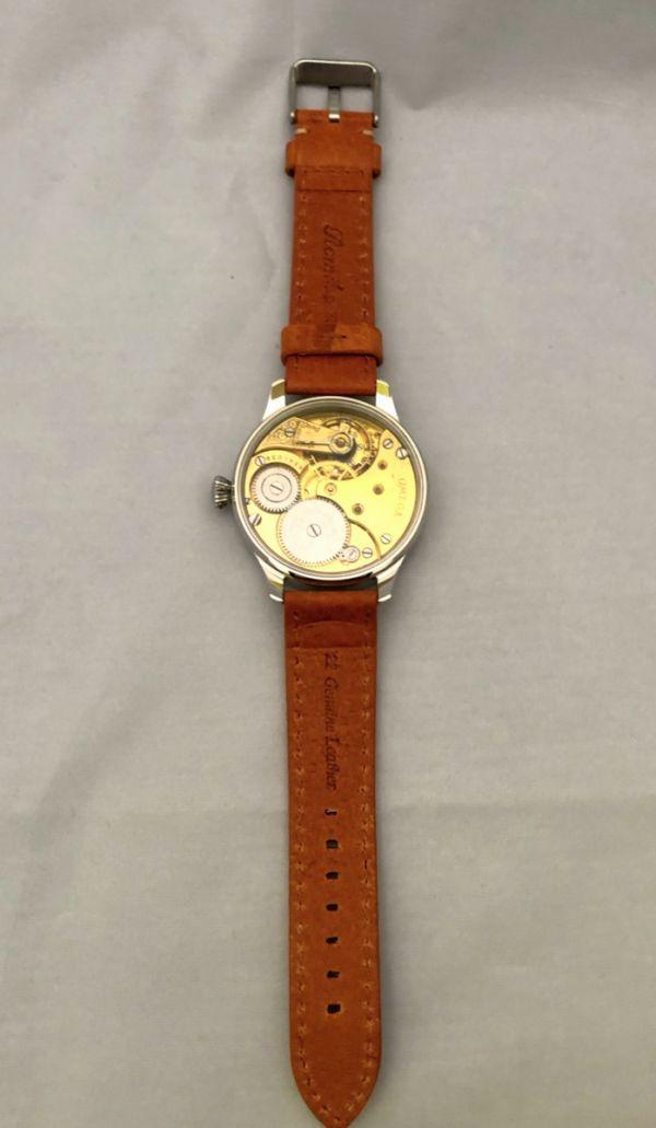 1円出品!送料無料!omega REGULATEUR オメガ レギュレーター ミリタリー 文字盤白 アンティーク腕時計  ビンテージ  手巻き _画像5