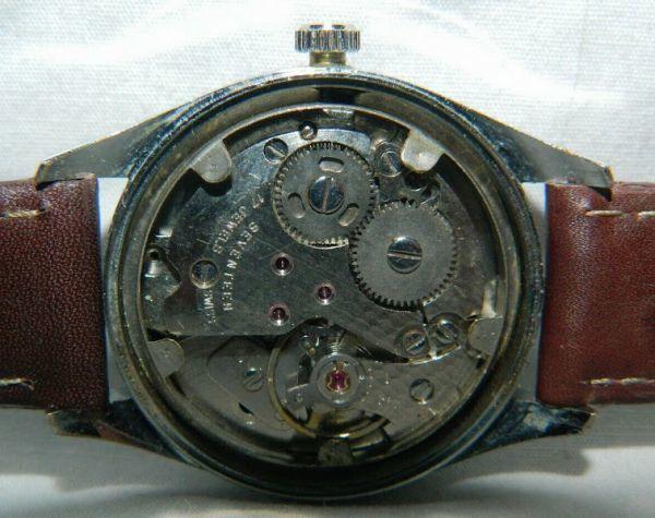 1円出品!送料無料!Hermes Paris エルメス アンティーク腕時計 手巻き date 日付  ビンテージ_画像7