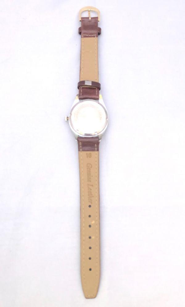1円出品!送料無料!Hermes Paris エルメス アンティーク腕時計 手巻き date 日付  ビンテージ_画像5
