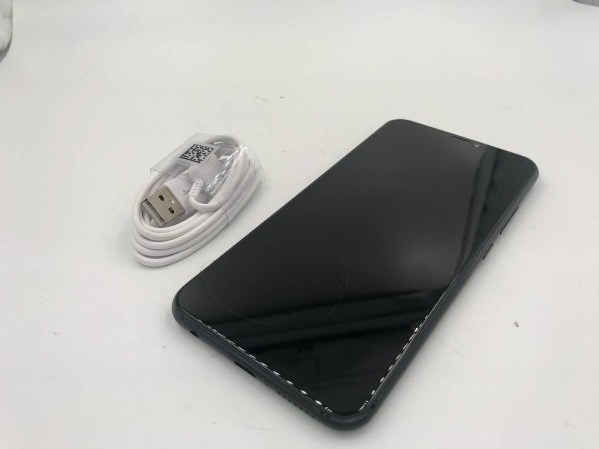 ゴールデンウィークセール★ASUS Zenfone 5Z ZS620KL Z01RD SIMフリー ブラック 香港版 美品 64gb 送料無料 355944090617002★
