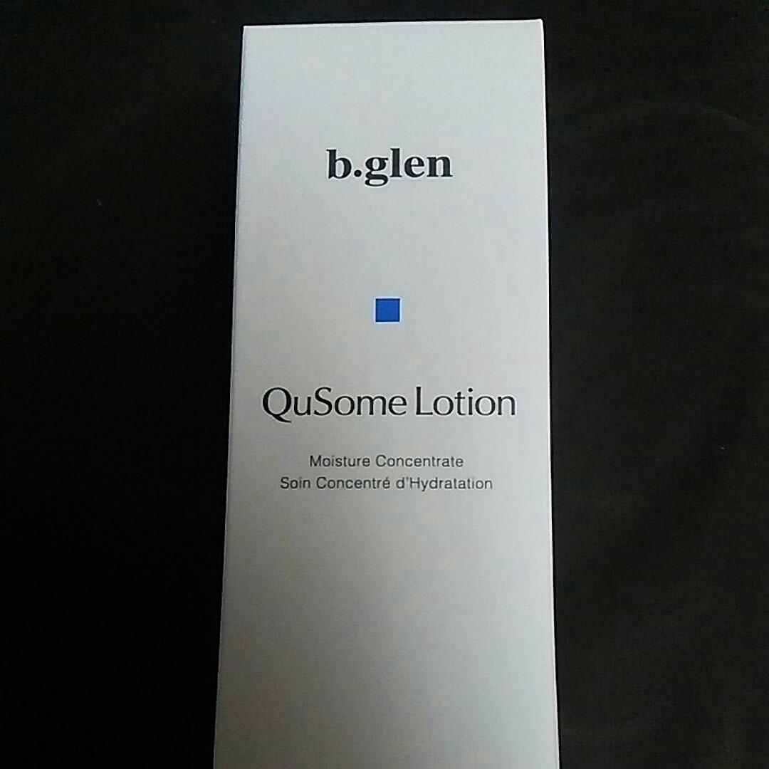b.glen ビーグレン Qusome Lotion 120ml 保湿化粧水 定形外無料 到着したて うるおい 毛穴 乾燥 ハリ エイジング