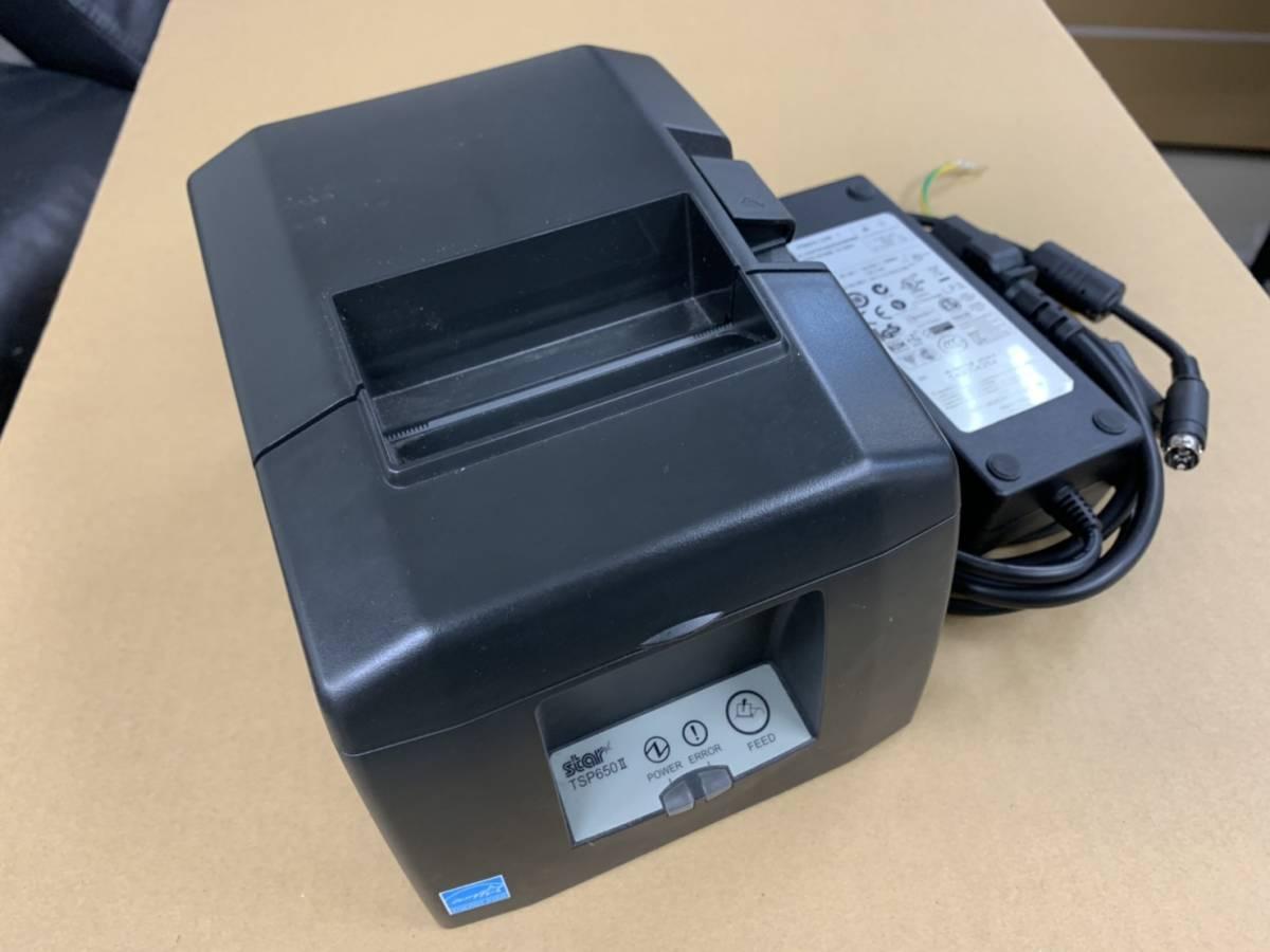 Star/スター精密 レシートプリンタ TSP650 キャッシュドロア セット ブラック_画像3