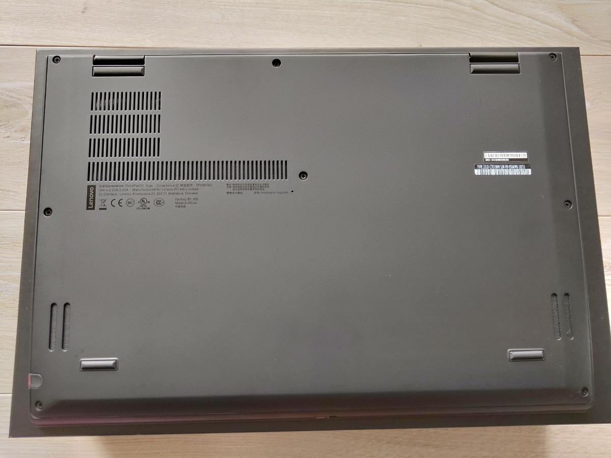 Lenovo ThinkPad X1 Yoga 2018 メモリ16Gb DDR3 2133MHz SSD PCIe M.2 512GB 14型WQHDタッチパネル液晶 WWANとNFC付! オプション保守_画像6